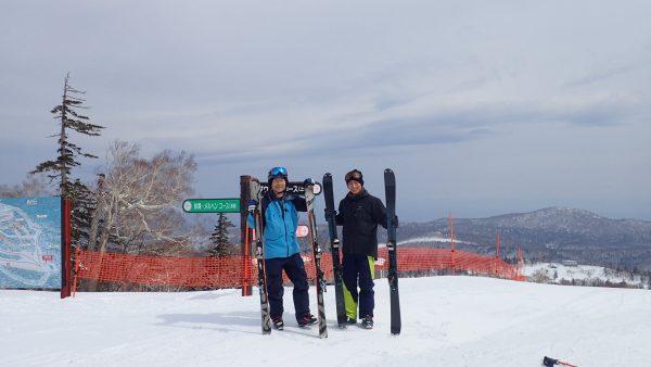 太気拳とスキー